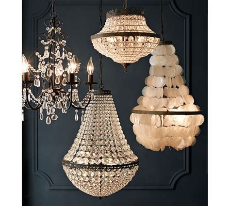 dalila beaded chandelier pottery barn for my