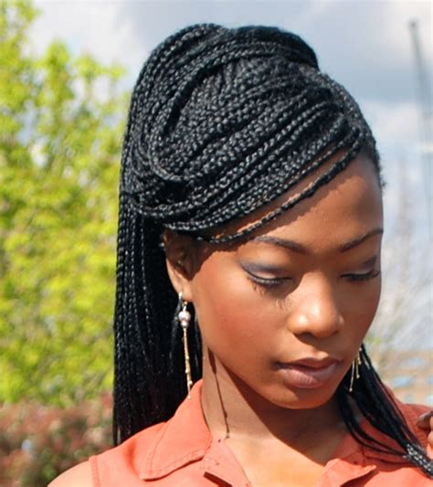 pony hair box braids the box braids are back red this time all is belle