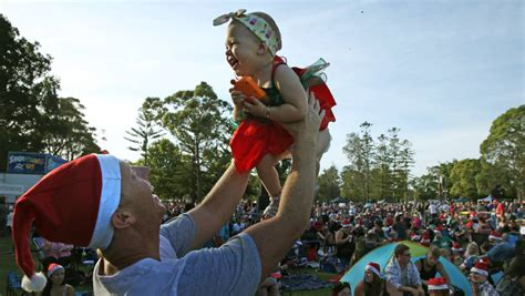 photos video christmas fun at speers point newcastle