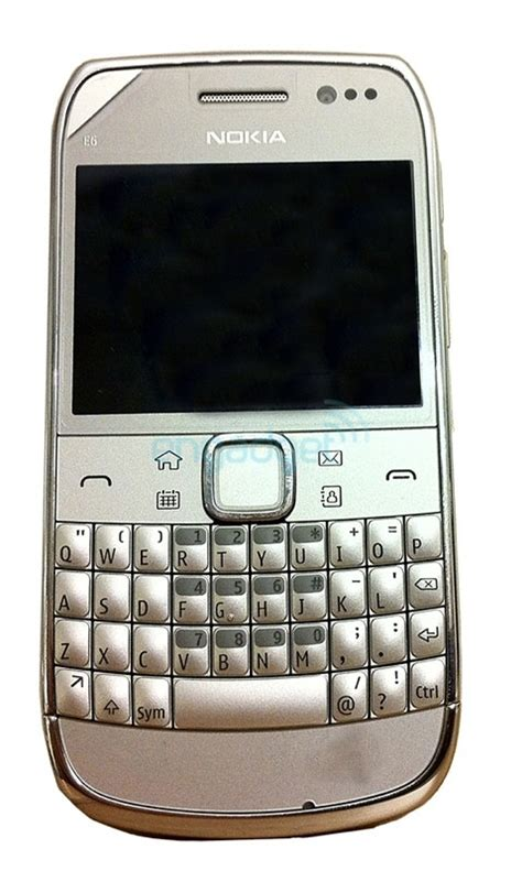 Hp Nokia Qwerty E6 nokia e6 pictures leaked