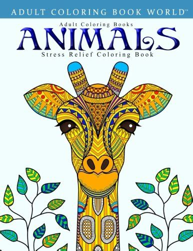 Buku World Coloring Book coloring books animals stress relief coloring