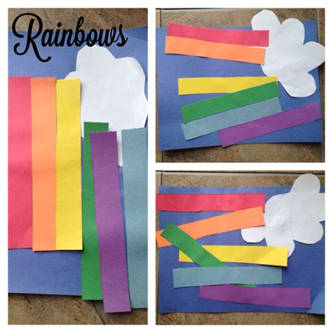 march arts and crafts for toddler rainbow craft for st patricks day
