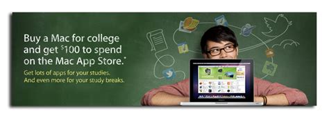 Apple 100 Gift Card Back To School - apple kicks off back to school promo buy a mac get a 100 app store gift card