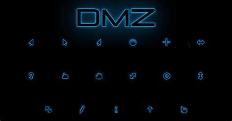 microsoft mouse themes dmz neon cursor pack 4 colors windows10 themes i
