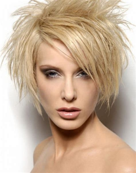 choppy spiky haircuts short spikey hairstyles for women over 40