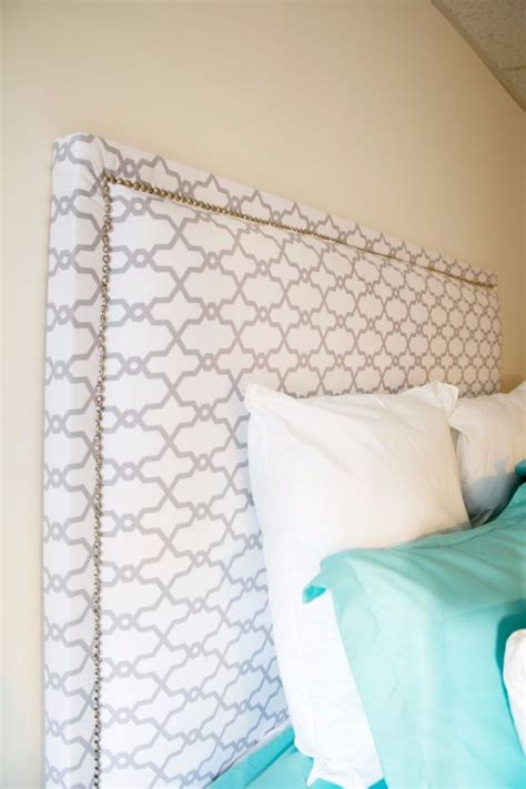 how to make a material headboard 31 fabulous diy headboard ideas for your bedroom page 2