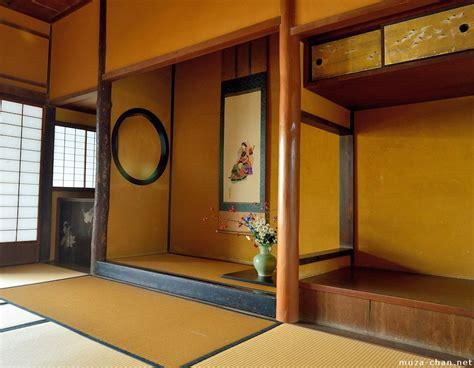 traditional japanese house name japanese traditional house tokonoma alcove