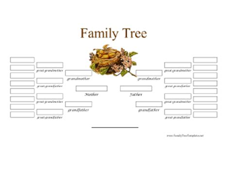 3 generation family tree template word 5 generation family tree template