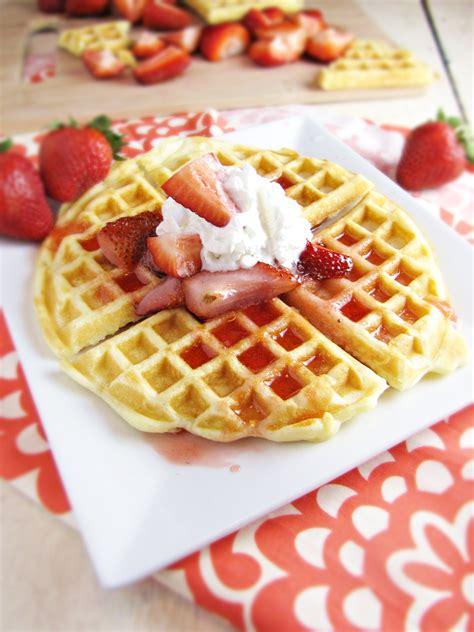 birthday waffles katie at the kitchen door