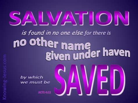 acts  salvation     purple