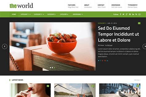 theme junkie the world theworld html template theme junkie