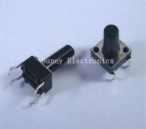 Switch 6x6x8mm Push On Momentary Saklar Tact Tutup Hijau wholesale 6x6x8mm tactile push button switch momentary