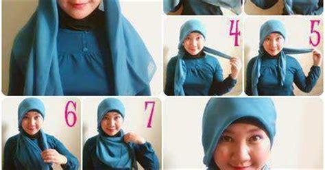 m0del berhijab untuk pipi yg tembem cara memakai jilbab paris untuk wajah bulat