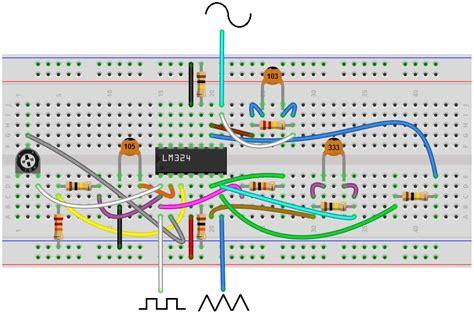 breadboard wiring basics wiring diagram with description