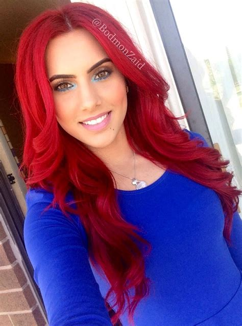 I Want To Dye My Hair Red From Dark Brown