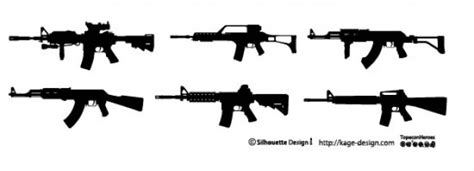 Weapon Graphics 5 rifle weapon vector free