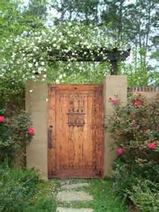 Garden gates estate gates speakeasy gate rustic gate