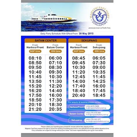 ferry from batam to singapore ferry tickets singapore batam by majestic fast ferry