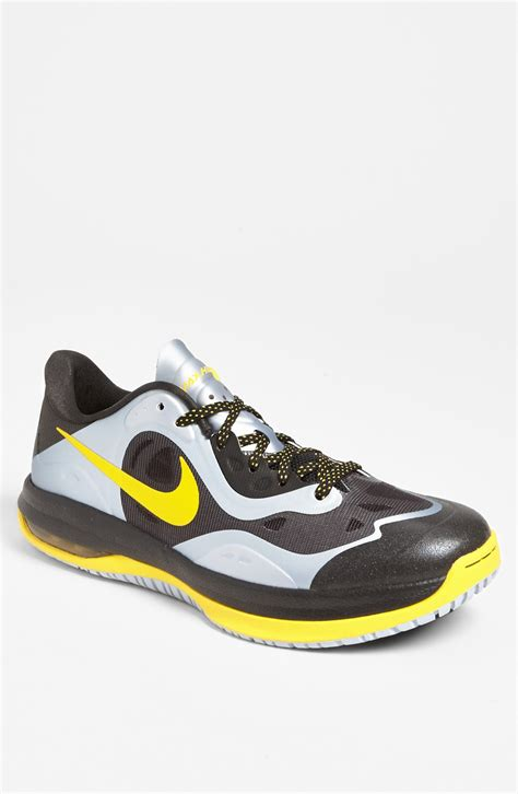 yellow nike basketball shoes nike max ham low basketball shoe in black for