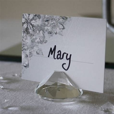 wedding placecard holders cheap wedding place cards online get cheap diamond shaped place card holders