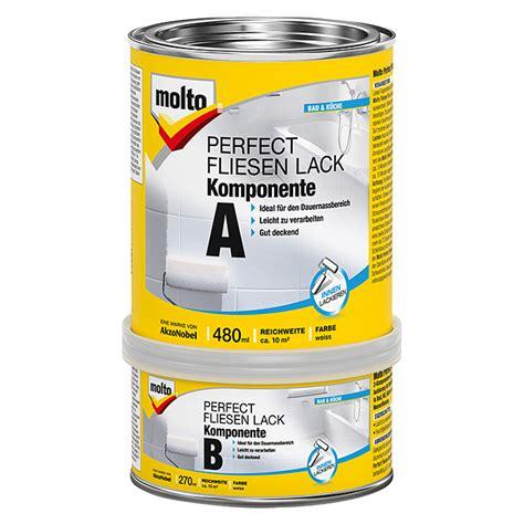 fliesenlack molto molto fliesenlack 2k wei 223 750 ml gl 228 nzend