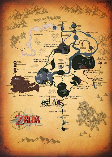 legend of zelda overworld map poster zelda maps by zantaff on deviantart
