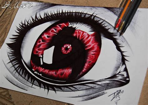 mangekyou sharingan of itachi uchiha by diegocabralr on