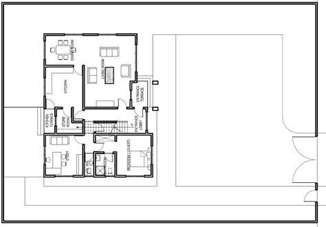 Ghana House Plans ? accra house plan ground Floor