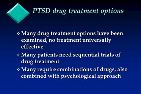 Addiction Detox Medications by Post Traumatic Stress Disorder Ppt