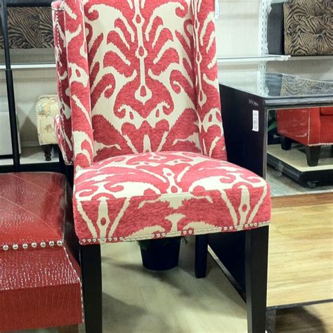 cynthia rowley chairs at homegoods cynthia rowley chenille brocade dining chairs at the