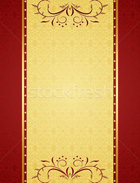 invitation card background design gold background for design of cards and invitation vector