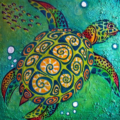 Samoan Home Decor by Best 25 Sea Turtle Art Ideas On Pinterest Turtle