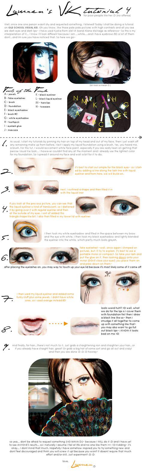 tutorial makeup visual kei visual kei make up tutorial 4 by drag my soul on deviantart