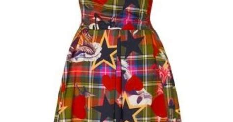 Be Tartan And Plaid Pretty In This Vivienne Westwood Dress by Vivienne Westwood Shoes Accessories