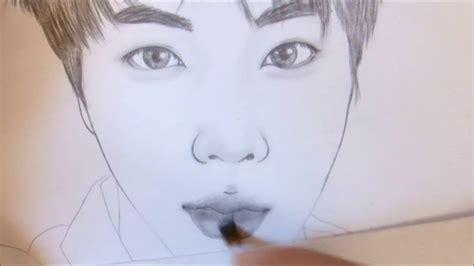 Pencil Drawing Jungkook
