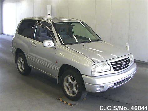 Suzuki Grand Vitara 2001 For Sale 2001 Suzuki Escudo Grand Vitara Silver For Sale Stock No