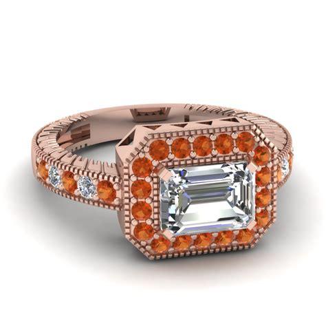 east west big emerald cut ring fascinating diamonds