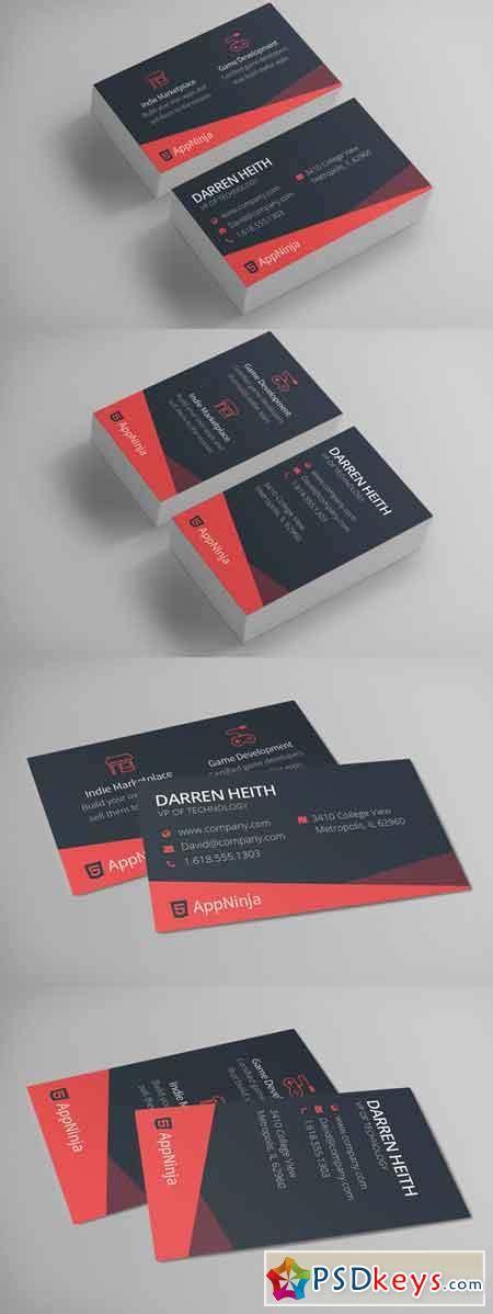 Sleek Business Card Templates by Sleek Business Card Template 660327 187 Free