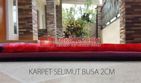 Karpet Busa Polos karpet selimut bulu halus lembut motif kartun bunga