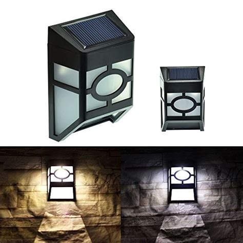 solar deck accent lights kapata wall mount 2 led mission style solar deck accent