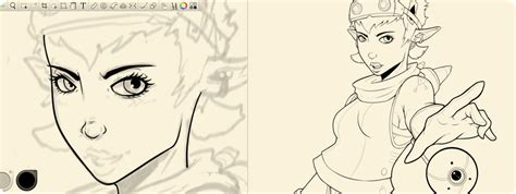 sketchbook pro line smoothing creating crisp smooth line ian o neill sketchbook