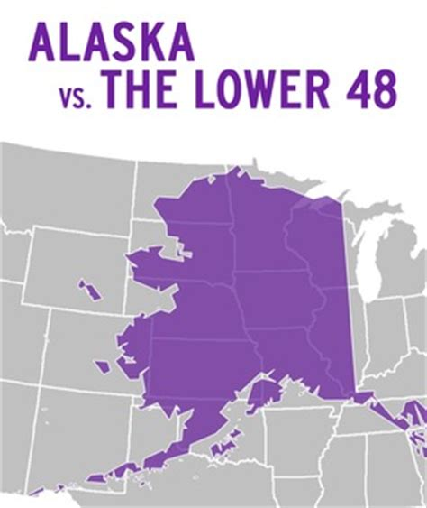 alaska map continental us 301 moved permanently
