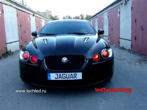 Sonicgear Xenon V Sport Black Green jaguar xf led headlights and 4 bi xenon bosch al