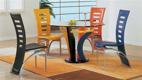 Dining Room Sets With Colored Chairs A Burst Of Colors From 20 Dining Sets With Multi Colored Chairs Home Design Lover