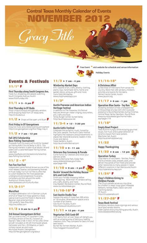 calendar eventsthings austincentral texas