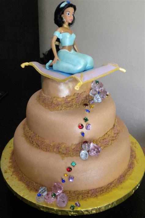 bolos de anivers 225 rio decorados da princesa jasmine