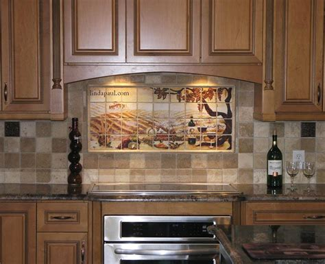 kitchen tile murals tile backsplashes best kitchen tile backsplash designs ideas all home