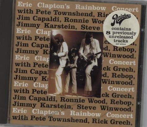 Eric Clapton S Rainbow Concert Vinyl - eric clapton rainbow concert vinyl records lp cd on