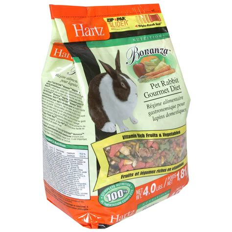 Ae102 Rabbit And Fruit Food 1 Kg hartz bonanza pet rabbit gourmet diet 4 lb 1 81 kg