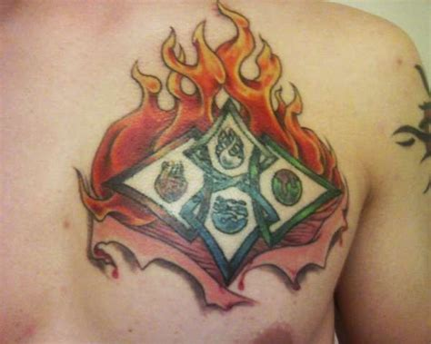 element tattoo 1000 ideas about four elements on